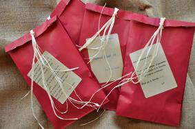 """Mouches de pêche """"De plumes et d'acier"""" Paquets cadeaux"""
